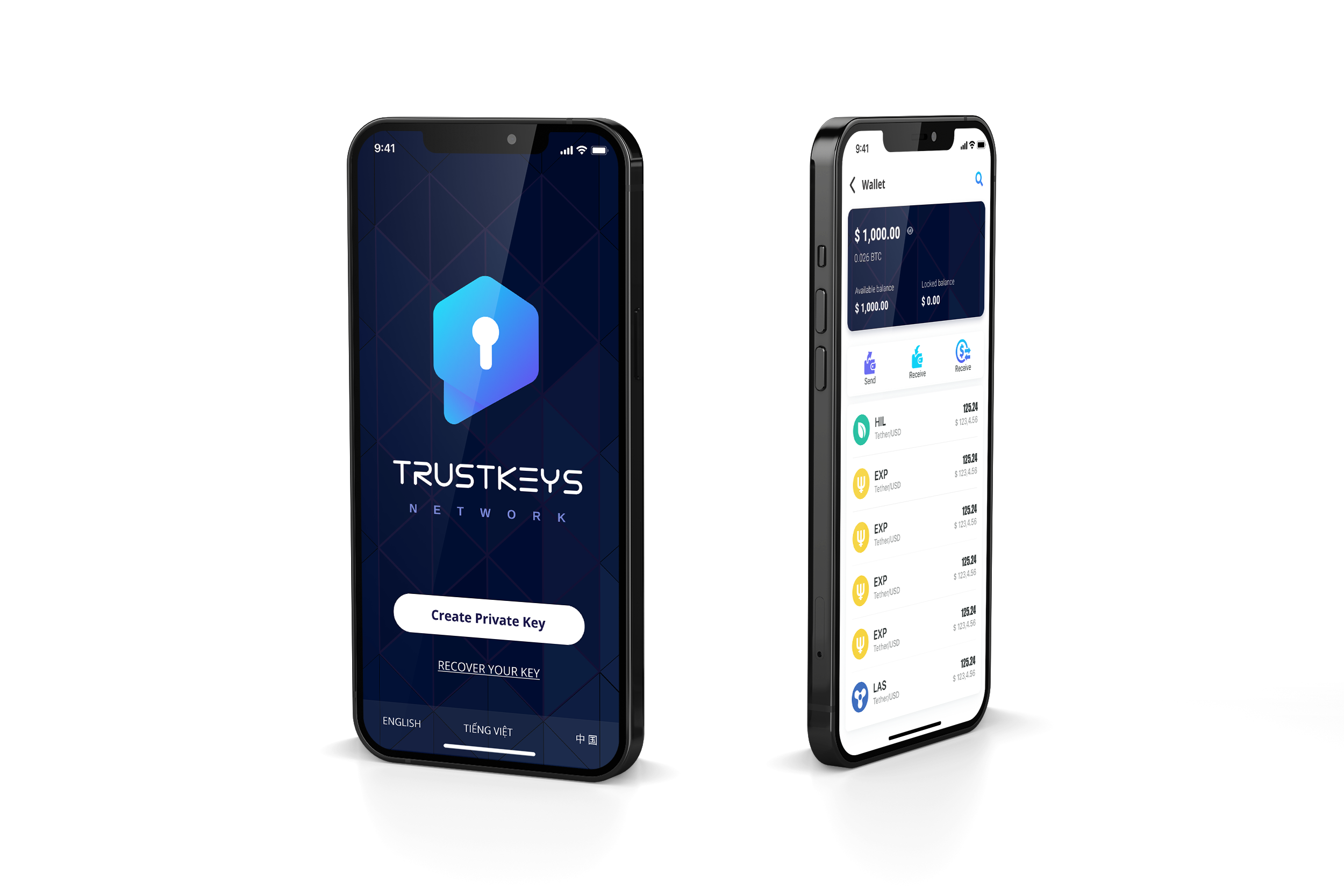 TrustKeys Network - A safe entry to crypto world - a SuperApp with  Encrypted messaging and bitcoin wallet, exchange and blockchain-style  social network